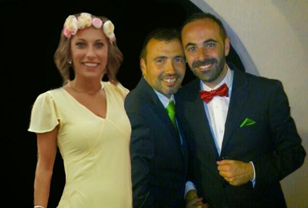 Con Juan y José