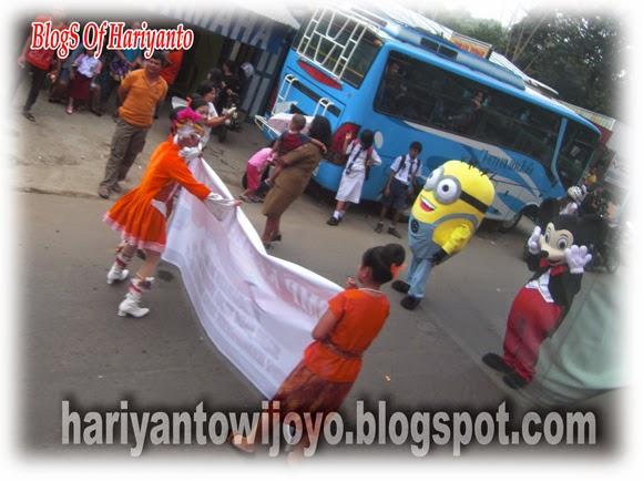 Ketemu Minions dan Mickey Mouse di Tana Toraja