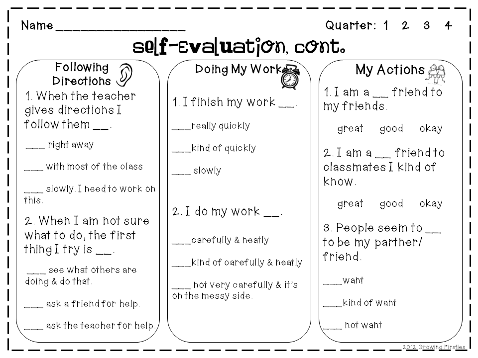 Fundraising PackSelfEvaluation FreebieCoffeeT or T Pix – Teacher Self Evaluation Forms