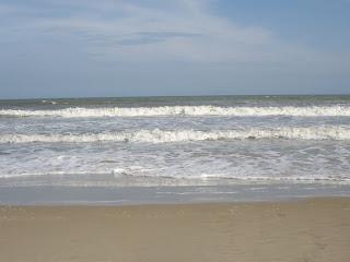 Spiaggia di sabbia bianca a Vung Tau - Vietnam