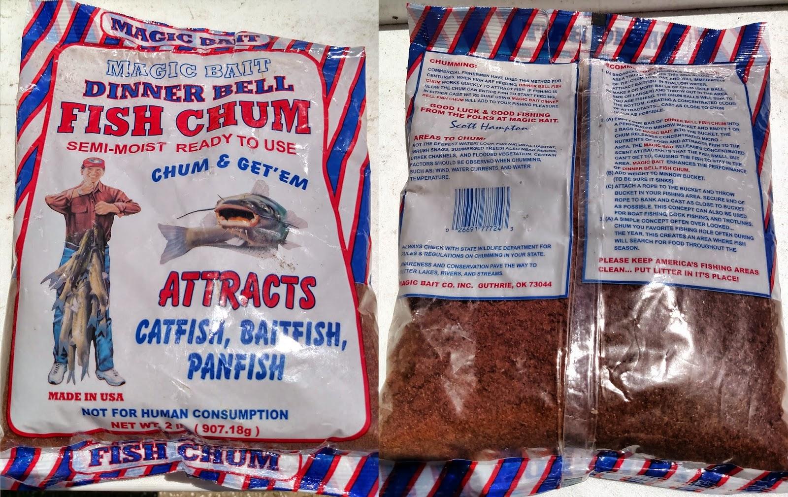 Review: Magic Bait Dinner Bell Fish Chum (Catfish)