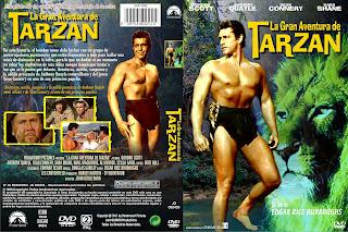 Carátula: La gran aventura de Tarzán 1959