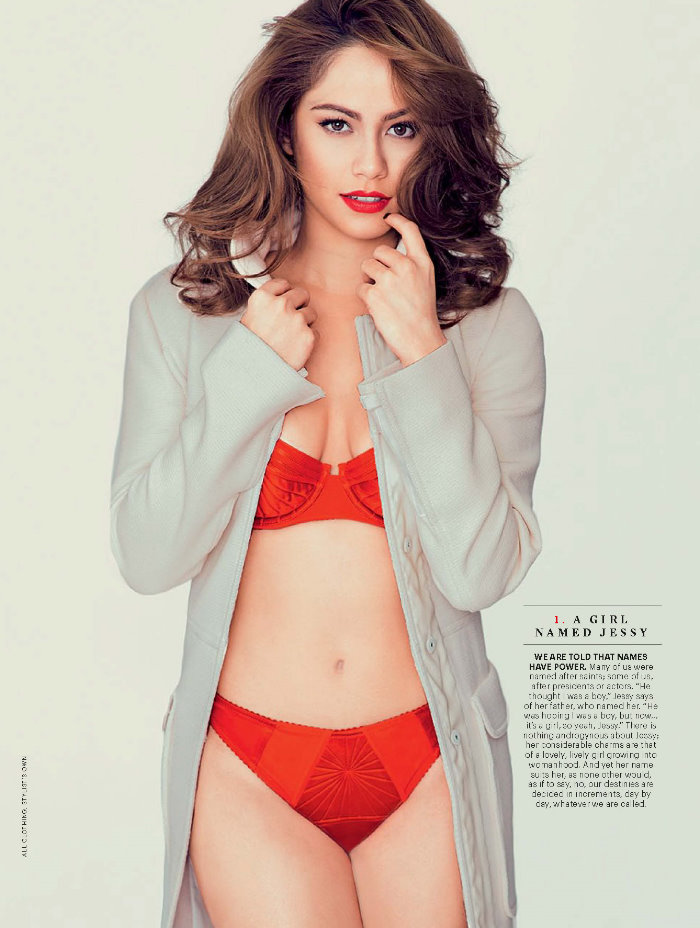 Chatboutbeautiful jessy mendiola for esquire philippines september