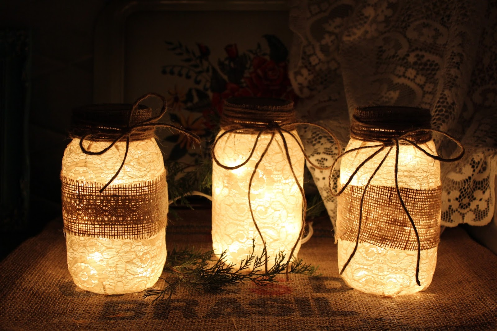 fruit jar lamps