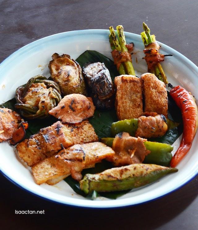 Barbecued Yong Tau Foo