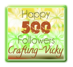 Vicky's 500 followers candy