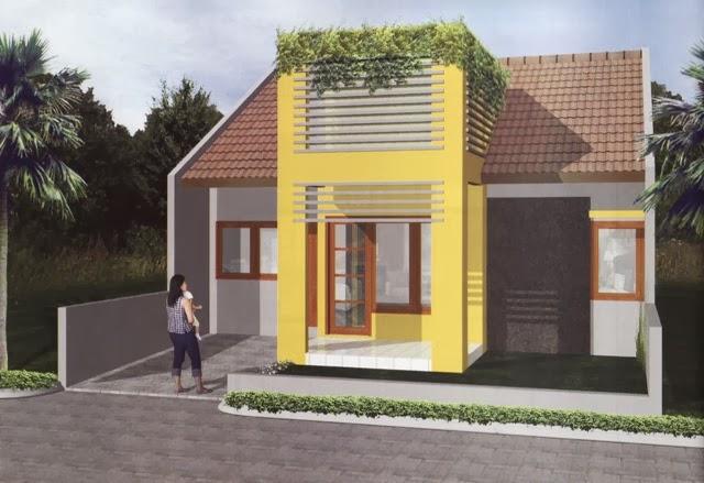 teras rumah minimalis cantik desain model gambar denah