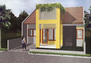 teras rumah minimalis cantik