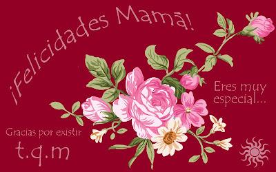 Mensajes con flores para el Día de las Madres IX