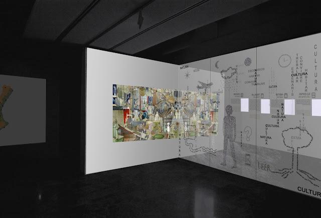 cultura inmaterial, cultura material, instalacion , vista 2