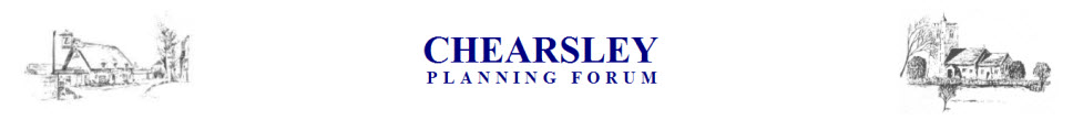 Chearsley Planning Forum