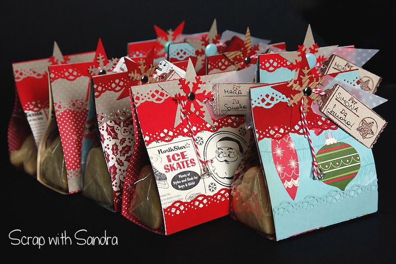Eccezionale Scrap with Sandra: Biscotti e confezioni per Natale SL06
