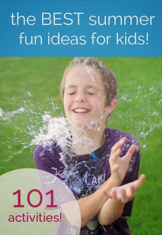 101 Fun, easy Activities Kids can do at Home