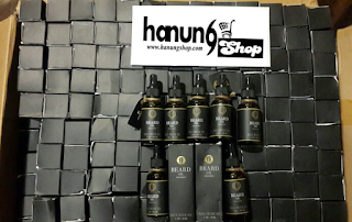 Ready Stock Ombak Beard Oil Penumbuh Jenggot
