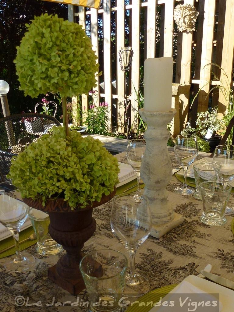 Le jardin des grandes vignes table d co - Le jardin des grandes vignes ...