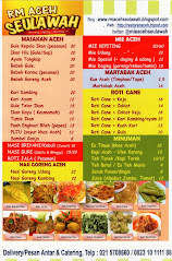 Menu Makanan Aceh