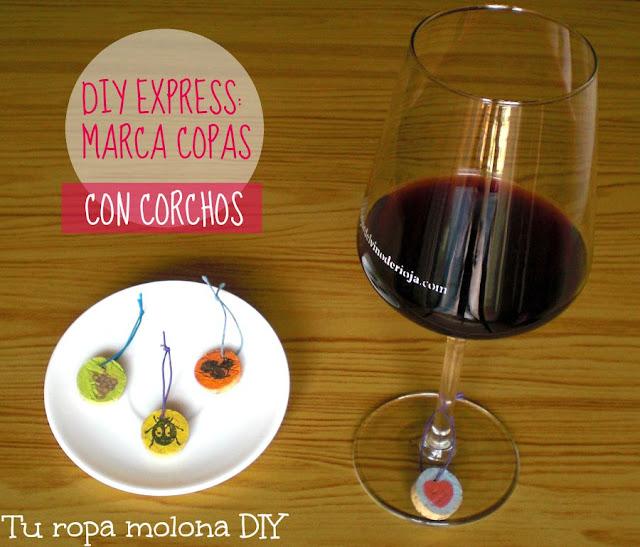 DIY EXPRESS: Cómo hacer marca copas con corchos