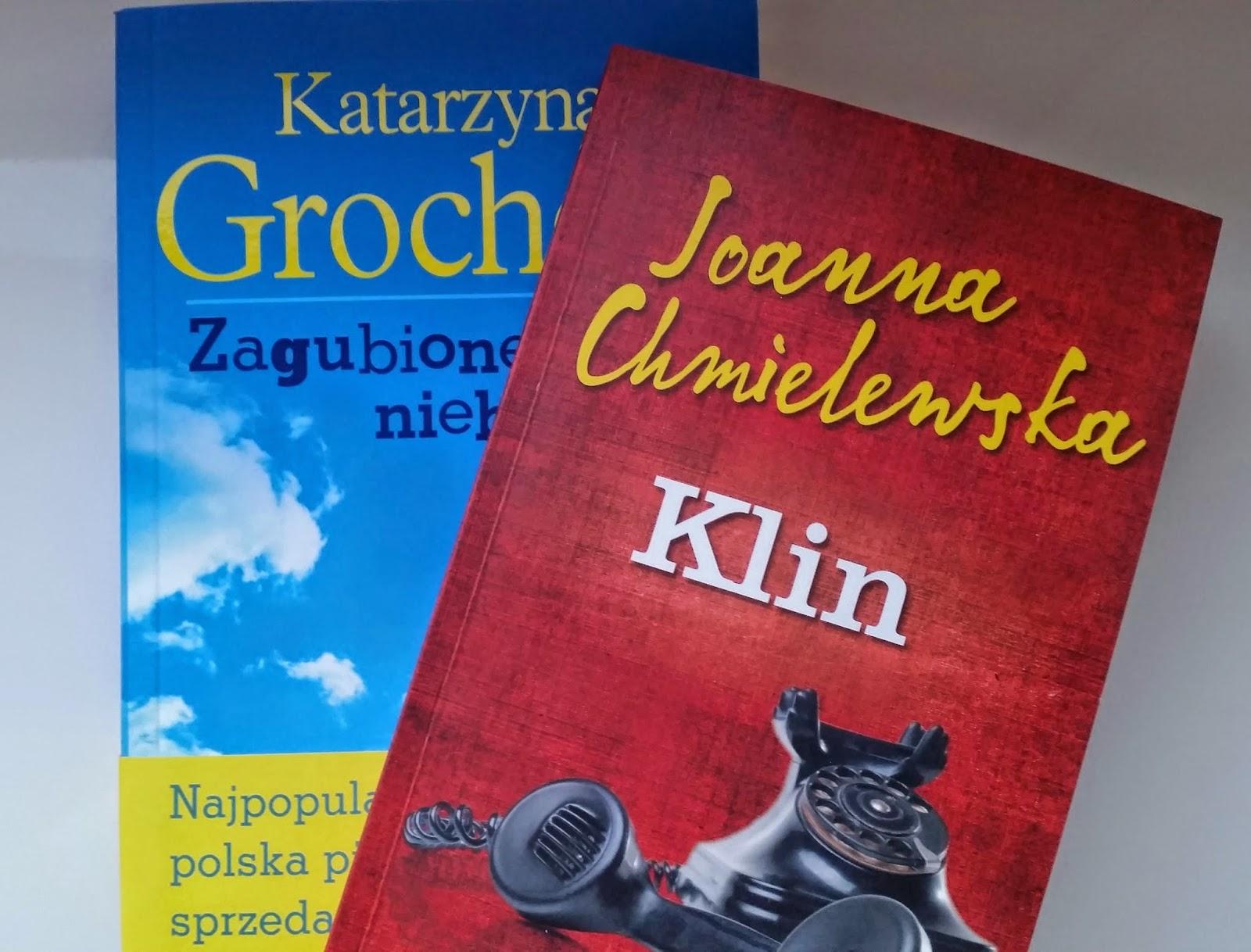 książki, Katarzyna Grochola, Joanna Chmielewska