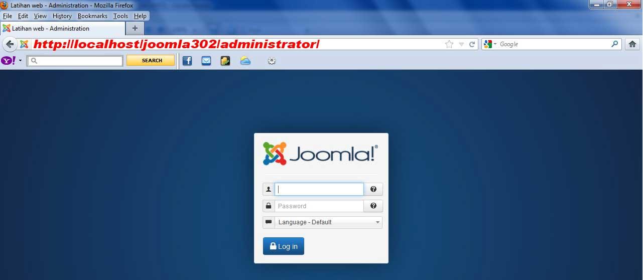 Pembahasan kali ini kita akan membahas back end / admin dari joomla 3 ...