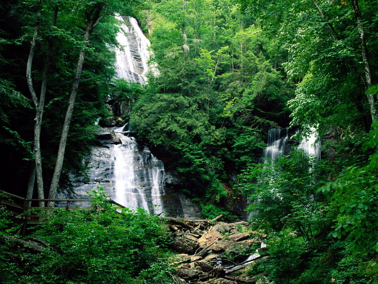 Waterfalls Chattahoochee National Forests