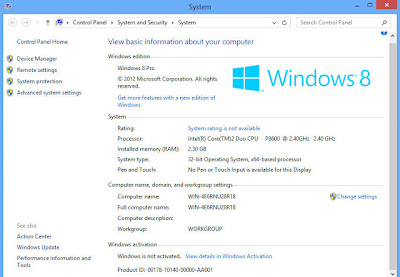 Windows 8 Full All in One Orion 2013 Genuine