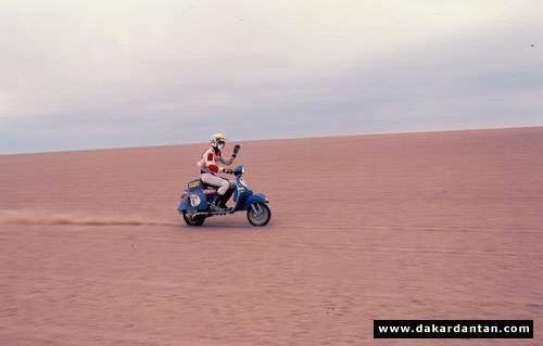 Vespa Paris Dakar 09