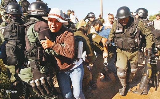 Conflictos sociales en Bolivia