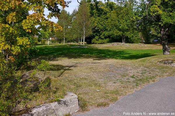 grästorp, park