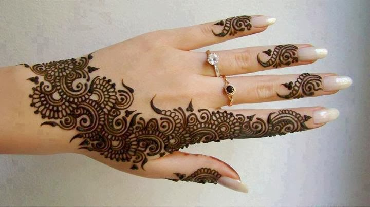 Patternz4u Arabic Mehendi Designs For Hands Back Side