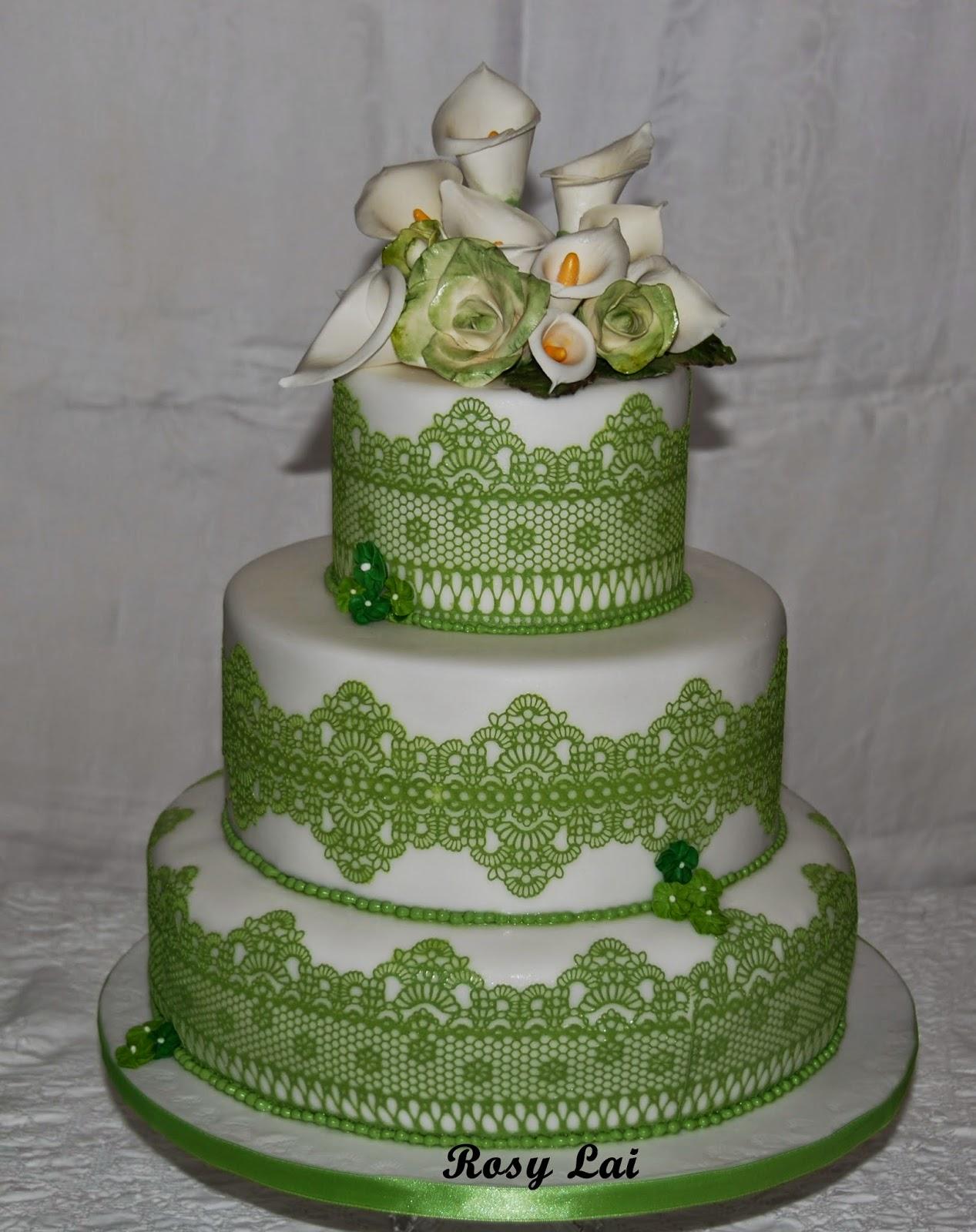 Le torte di rosy lai promessa matrimonio calle e rose