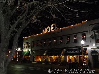 Christmas small town