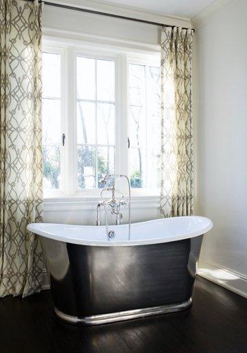 vignette design: More Romance in the Bathroom: Copper and Nickel ...