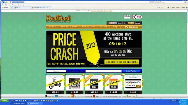 DealDash Shopping Blowout Sales