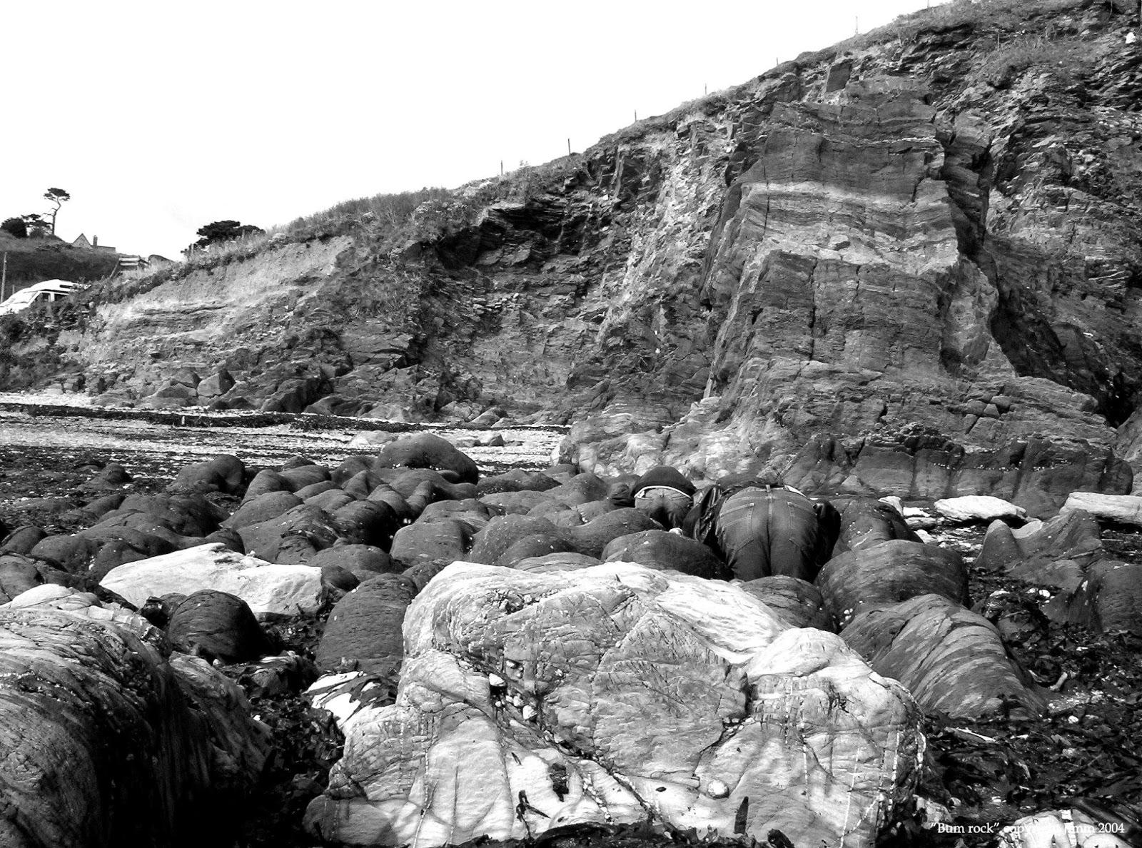 Bumrock near Polperro
