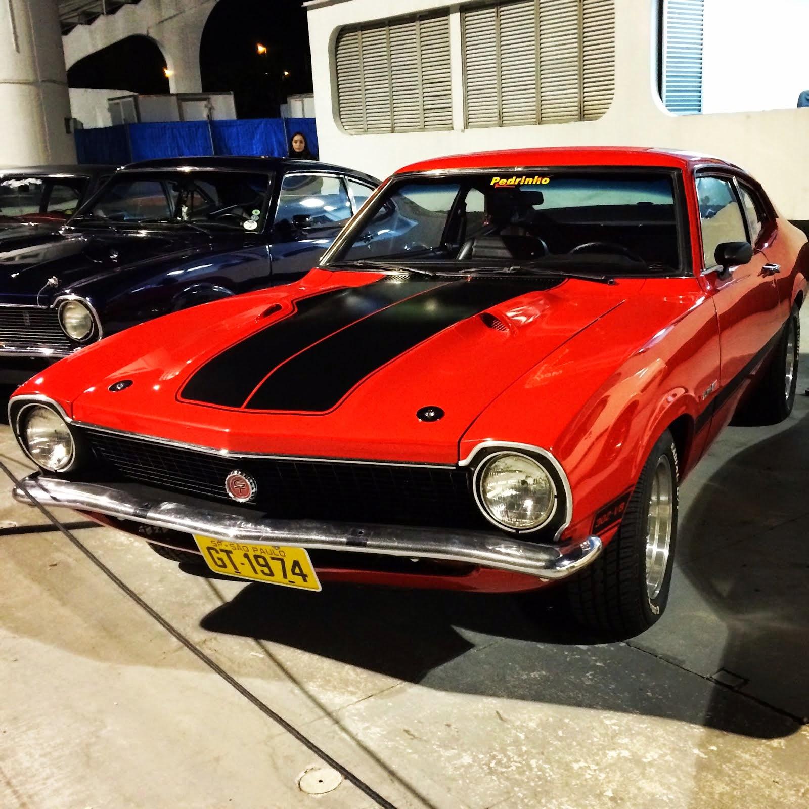 2012 Ford Mustang 50 Maverick GT V8: Maverick night, fantástico! GT 1974