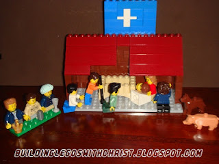 LEGO Nativity Creation