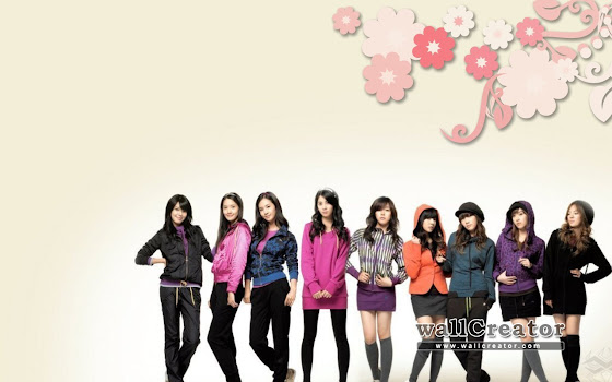 wallpaper girlband kora snsd