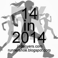 I'm running 14 races in 2014!