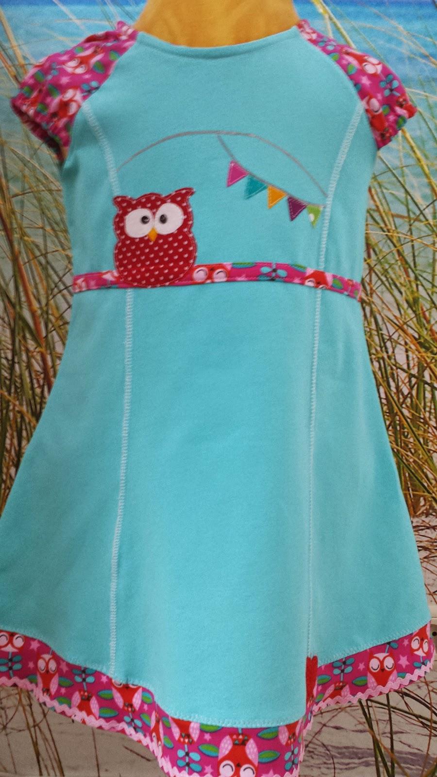 Kleid mit Owl