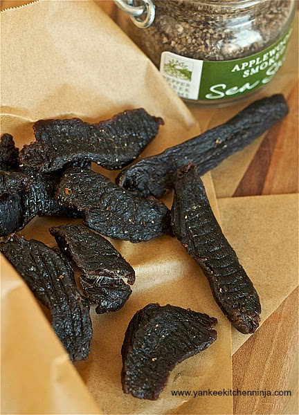 DIY cidered beef jerky or venison jerky