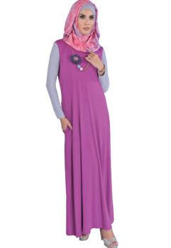 Desain Model Terbaru Baju Muslimah Wanita Untuk Lebaran