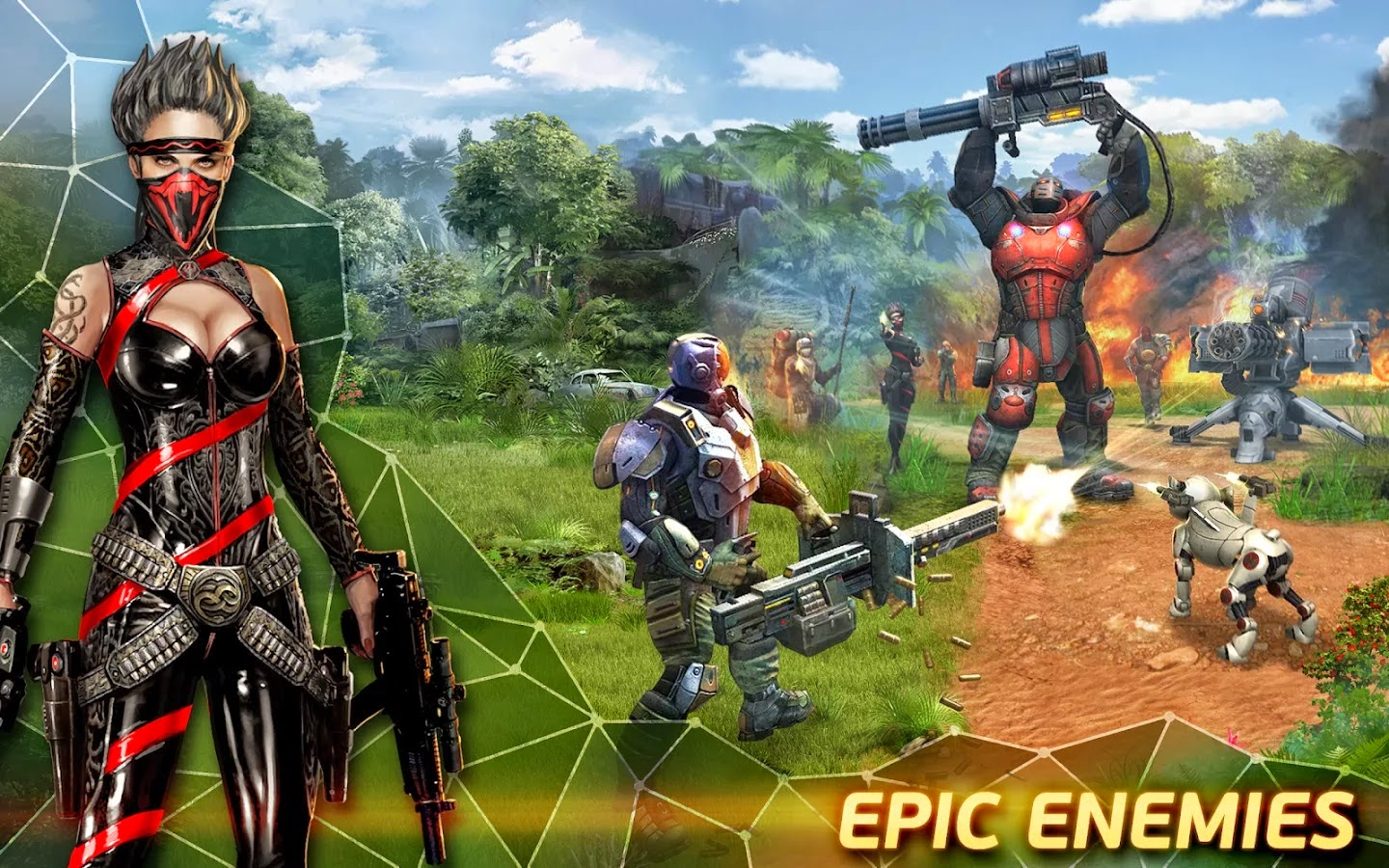 Evolution: Battle for Utopia v1.4.2 Mod [Unlimited Energy/Gems]