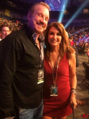 Dixie Carter Ringside with DDP.