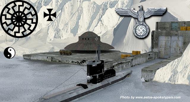 Η Κρυμμένη υπόγεια βάση του Χίτλερ και της ναζιστικής Γερμανίας στην Ανταρκτική