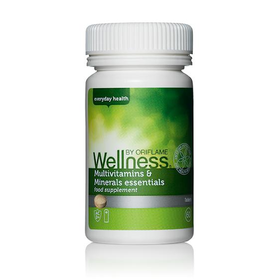 Multivitamínico e Mineral Essentials - Wellness da Oriflame