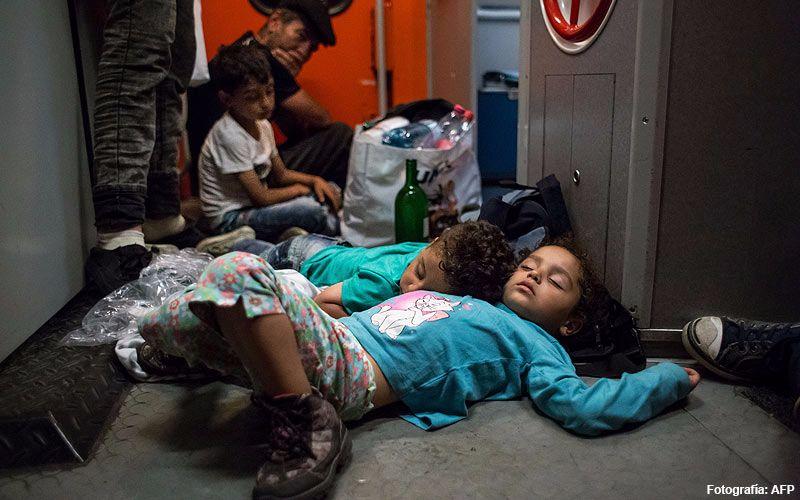 Los Traumas Psicológicos De Los Niños Refugiados