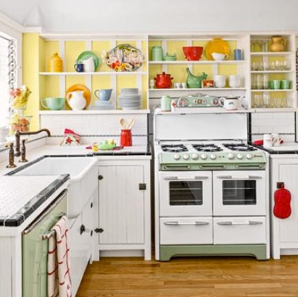 A sort of fairytale summer camp cottage for Retro kitchen designs rustenburg