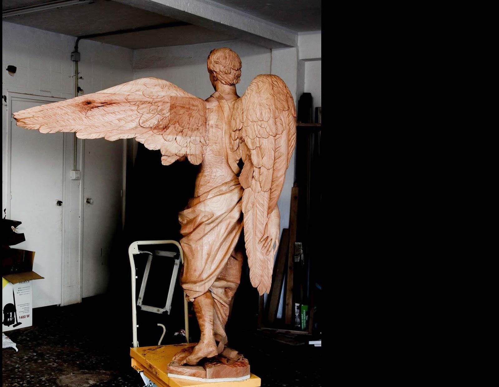 Ángel Semana Santa Tobarra escultura 22