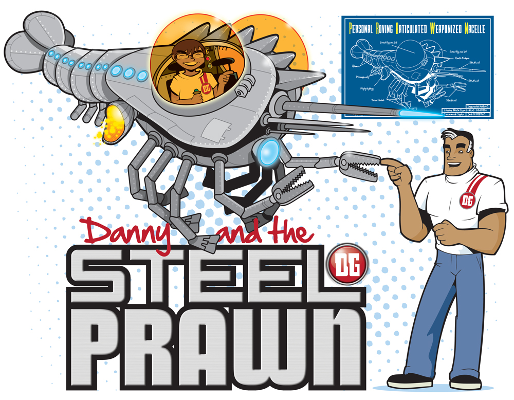 Steel prawn