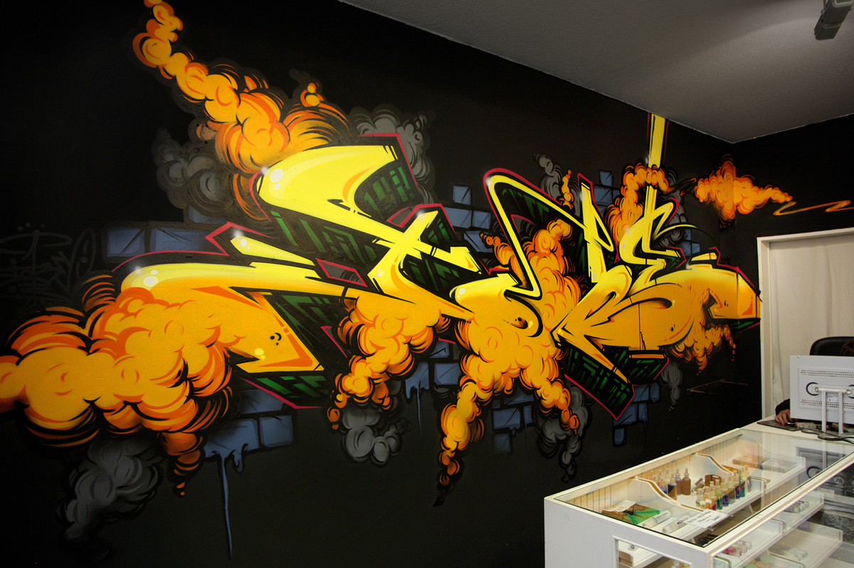 Graffiti Indoors
